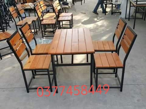 bộ bàn ghế quán ăn