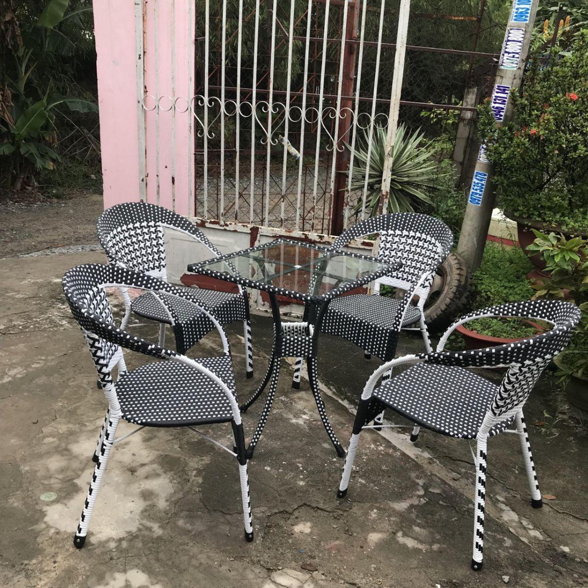bộ ghế mây nhật